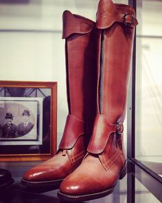 """yoshimihasegawa: """" Traditionsl details, front zippers of Polo boots """" Polo Boots, Mens Shoes Boots, Leather Boots, Men's Shoes, Shoe Boots, Equestrian Style, Equestrian Fashion, Le Polo, Riding Boots"""
