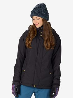 Burton Wylie GORE-TEX® Jacket shown in True Black | Ultimate ...