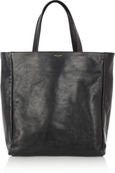 8feb2623eb Saint Laurent The Shopping reversible suede and leather tote