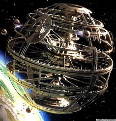 Open framework of a Spherical Space Colony or Station.  #SpaceStations  #SpaceColony