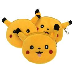 Pikachu Face Yellow Soft Coin Purse #PikachuFaceYellowSoftCoinPurse #PikachuPurse #PikachuWallet #PokemonPikachuWallet #PokemonPurse #PokemonWallet #Wallet #WalletPokemon