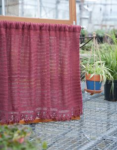 Free Knitting Patterns For Lace Curtains : 1000+ images about KNIT CURTAIN on Pinterest Linen curtains, Cafe curtains ...