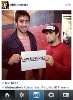 Nice to see the Ottawa Senators Cory Conacher rocken a GONGSHOW bucket on the Sens Instagram feed - did you know we have over 17 000 Followers on our www.instagram.com/gongshowgear feed? Toss us a follow - #GONGSHOW