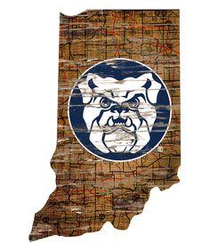 Butler Bulldogs Cutout Wall Sign
