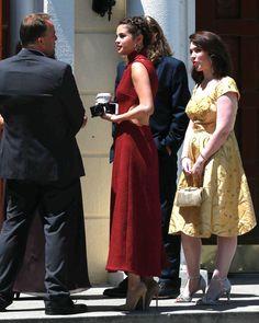 April 21: [More] Selena at David Henrie & Maria Cahill's Wedding in Wilmington, Los Angeles [HQs]