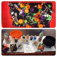 Halloween Dramatic Play- Witches Brew/Potions shop