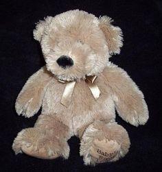 "Koala Baby Tan Baby's First Teddy Bear Sewn Eyes Soft Shaggy Plush Toy 14"" | eBay"