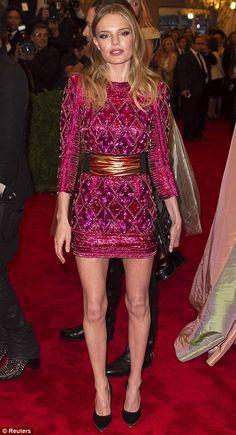 MET Ball 2013 - Kate Bosworth in Balmain