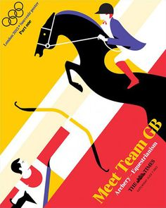 The Times olympic posters