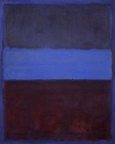 Mark Rothko: Abstract Expressionist Painter, Founder of Colour Field Painting- Rust and Blue Mark Rothko Paintings, Rothko Art, Art Paintings, Willem De Kooning, Jackson Pollock, Museum Of Contemporary Art, Modern Art, Contemporary Paintings, Abstract Painters