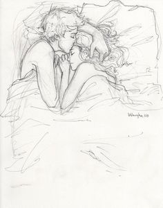 I love this drawing so much. It's just so adorable and sweet.
