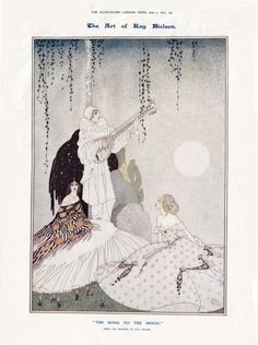 The Song To The Moon. by Kay Nielsen.