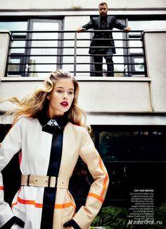 Модные новости: Осенние фотосессии для модных журналов: октябрь-ноябрь 2013