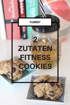 Gesunde Fitnesskekse – Nur 2 Zutaten  - Fitness Cookies