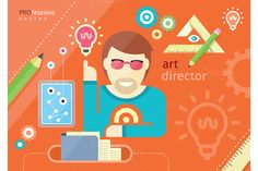 Check out Creative people design occupations by robuart on Creative Market