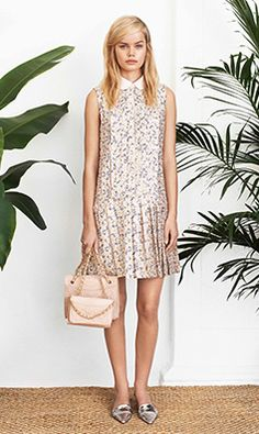 Tory Burch SPRING 2014 Look 2 #QFClothing