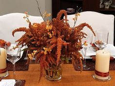 Beautiful Rustic Fall Wedding Centerpieces Fall brings crisp weather we desire after a long hot summer, with the weather perfect wedding. Fall Wedding Table Decor, Fall Wedding Centerpieces, Flower Centerpieces, Autumn Wedding, Centerpiece Ideas, Free Wedding, Wedding Ideas, Wedding Stuff, Wedding Inspiration