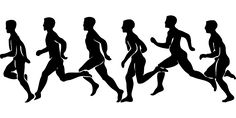 Runner Silhouette   People, Man, Runner, Silhouette, Person, Cartoon