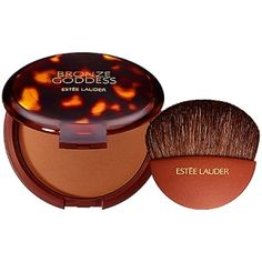 A bronzer that looks gorgeous on the skin while lasting the whole day? Look no further than the Estée Lauder Bronze Goddess Powder Bronzer. Bronzer Makeup, Best Bronzer, Face Makeup, Cheek Makeup, Estee Lauder Bronze Goddess, Skin Shine, Beauty Dupes, Beauty Products, Makeup Products