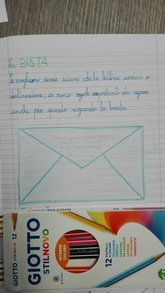 Classe Terza-Italiano-la Lettera- Settembre - Maestra Anita Desperate Housewives, Coloured Pencils, Crayon, Card Holder, Bullet Journal, School, 3, Montessori, Colors