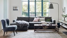 No matter how big or small the space, the Nimbus Modular Sofa's countless configurations ensure the perfect fit for your home. Shop our collection of pre-configured designs online or visit in store to create your own piece from a range of modular components – call 020 7896 7520 for more details.