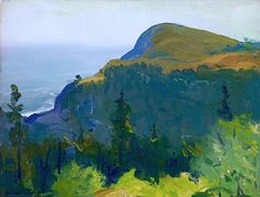 GEORGE WESLEY BELLOWS Hill and Valley, 1913