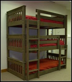 Triple Bunk Bed Dimensions