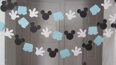 10 pies de ratón de mickey inspiró papel por Sunshineanddaisy