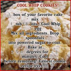 Easy cookie recipe for any time of the year