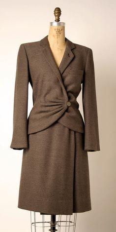 Suit Giorgio Armani (Italian) ca. 1979 wool