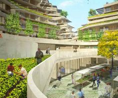 Co-Op Canyon: Ecotopia Inspired by Anasazi Cliff Dwellings