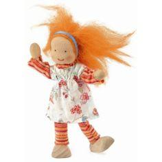 Kathe Kruse Waldorf Dollhouse Doll - Girl Caro