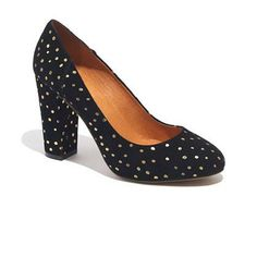 Madewell The Frankie Pump in Foil Dot
