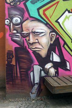 Graffiti de Ewok no Rio de Janeiro Brasil (2)