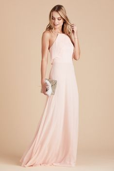3dcd4ea243f51 Birdy Grey Bridesmaid Dress Under $100 - Jules Dress - Blush Pink -  Lightweight Gown -
