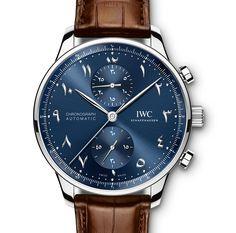 Introducing the IWC Portugieser Chronograph Dubai Edition with Eastern Arabic Numerals