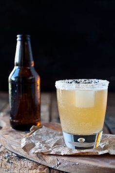 Golden Ale Beer Cocktail - ELLEDecor.com