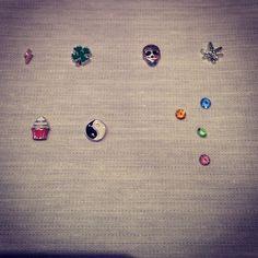 charms locked necklace de la boutique LIZAKORN sur Etsy