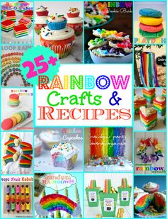25+ Rainbow Recipes and Crafts! | MomOnTimeout.com