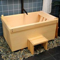How to Build a Japanese Soaking Tub Japanese soaking tubs and Tubs