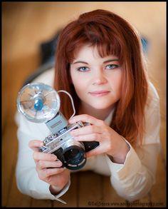 Zorki Camera Girl   Flickr - Photo Sharing!