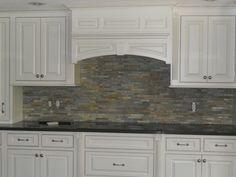 veneerstone used on a kitchen back splash | nh stoneworks