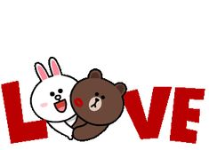 The perfect Cony Brown And Animated GIF for your conversation. Discover and Share the best GIFs on Tenor. Love You Gif, Cute Love Gif, Love Is Cartoon, Cartoon Pics, Love Images, Love Pictures, Cute Chibi, Chibi Cat, Minion Gif