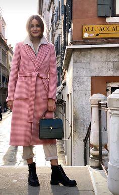 OPink Olivia Palermo Lookbook, Olivia Palermo Style, High Fashion, Winter Fashion, Street Fashion, Women's Fashion, Js Everyday Fashion, Vogue, Autumn Street Style