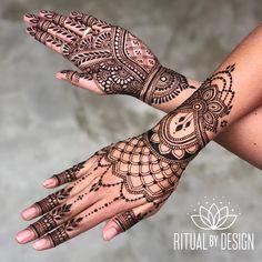 New Modern Bridal Henna Design 62 Ideas Henna Tattoo Hand, Henna Tattoo Designs, Henna Mehndi, Henna Art, Mehndi Art, Mehandi Designs, Day Of The Dead Skull Tattoo, Traditional Henna Designs, Modern Henna