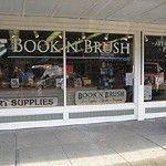 Books N Brush. Chelan, Washington.     Independent bookstore.