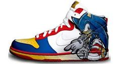 Sonic The Hedgehog Sneakers