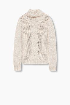 EDC / Chunky knit jumper + wool, alpaca