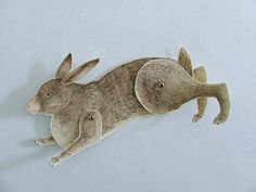 Mechanical Rabbit Running  by ohmycavalier, via Flickr (Julia Swaney)