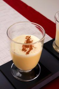 With all the worries about raw eggs, this eggnog recipe surfaced. I started making it such a long time ago that my recipe card is browned with age. It is the best eggnog I have had, so I never made another recipe. Holiday Eggnog Makes 16 cups 12 eggs 1 Christmas Drinks, Holiday Drinks, Sweets Recipes, Egg Recipes, Yummy Recipes, Recipies, Dukan Diet Attack Phase, Ponche Navideno, Dukan Diet Recipes